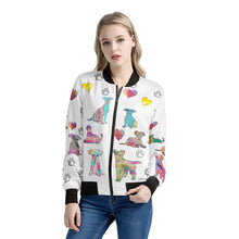 Load image into Gallery viewer, Mixed Breeds Jacket White