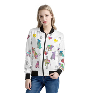 Bulldogs Jacket, white