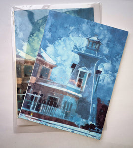 "Greeting Card ""Bronte Lighthouse"""
