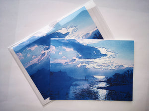 "Greeting Card ""Bronte Blue"""