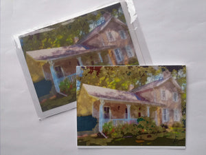 "Greeting Card ""Sovereign House, Summer"""