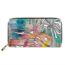 "Load image into Gallery viewer, ""Tropical Afternoon"" Wallet"