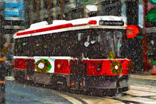"Load image into Gallery viewer, Greeting Card ""Old Streetcar"""