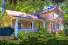 "Load image into Gallery viewer, Greeting Card ""Sovereign House, Summer"""