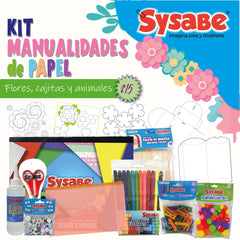 KIT DE MANUALIDADES DE PAPEL