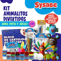 KIT ANIMALITOS  DIVERTIDOS