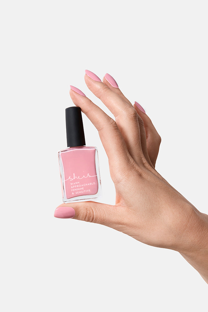 BEYSIS 'SHE IS' NAIL POLISH - LIGHT PINK