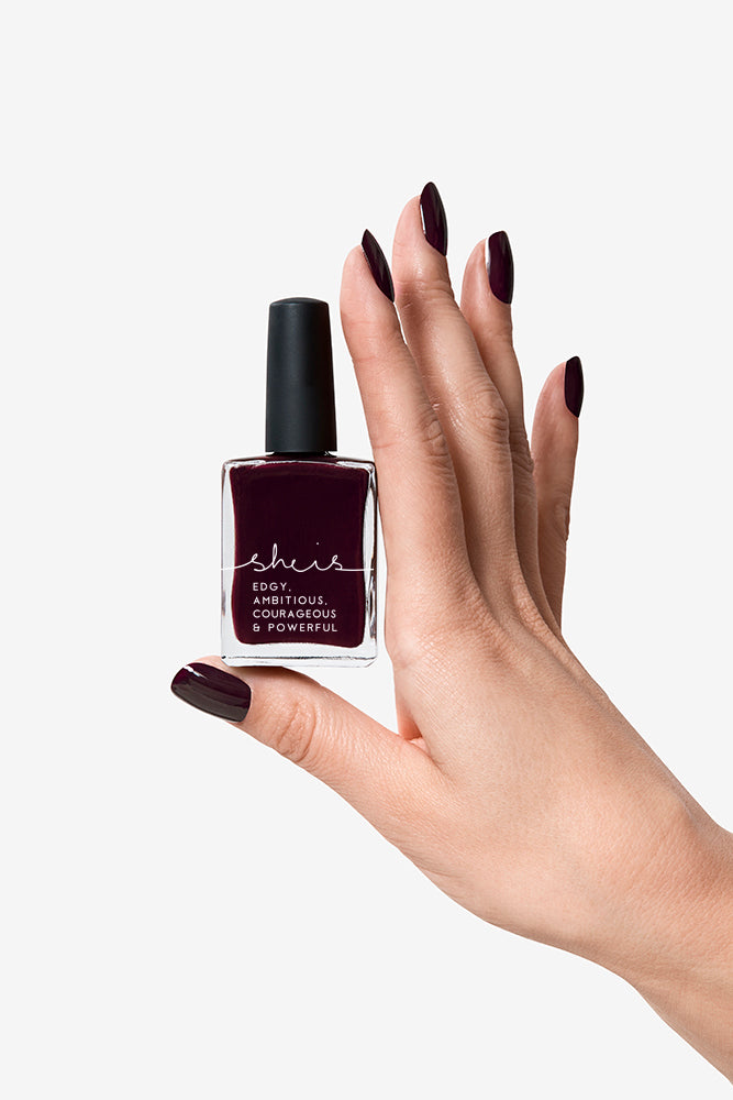BEYSIS 'SHE IS' NAIL POLISH - MAROON
