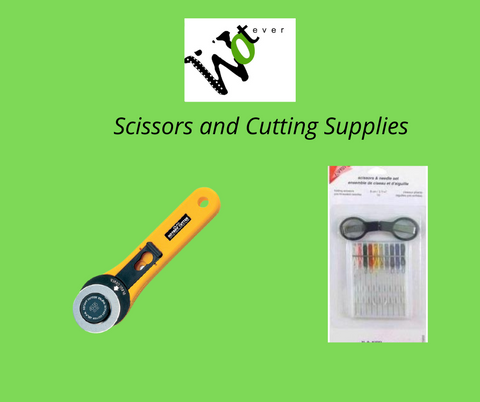 Scissors and Cutting Supplies