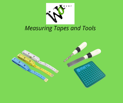Measuring tapes and tools