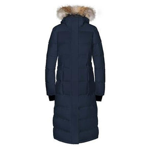 Quartz Ajna Parka in Navy - Front View