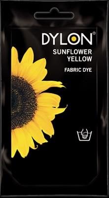 Dylon, Natural Fabric Dye, 50 g pouch, Sunflower Yellow