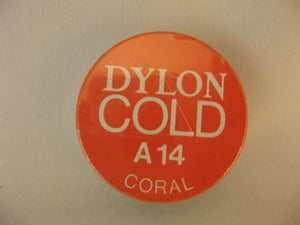 Dylon, Cold Water Dye, 10g tin, Coral, #A14
