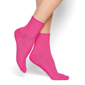 Bleuforet Roll-Top Ankle Socks in Bonbon