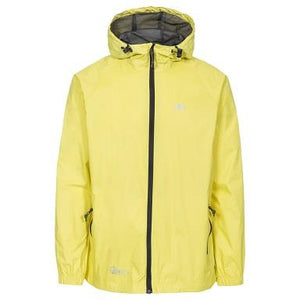 Trespass Qikpac Waterproof Jacket in Yellow