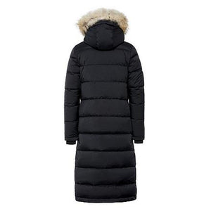 Quartz Ajna Parka in Black - Back View