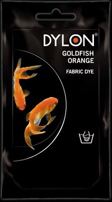 Dylon, Natural Fabric Dye, 50 g pouch, Goldfish Orange
