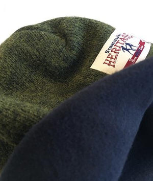 Stanfields Heritage Collection Toque, Wool/Nylon Blend with Performance Fleece Lining in Black, Heathered Grey and Alpine Green, Made in Canada