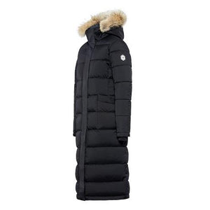 Quartz Ajna Parka in Black - Side View