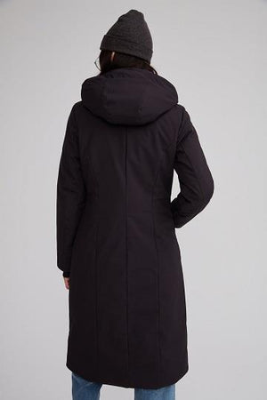 "Audvik Ladies ""Bali"" Parka in Olive - Back View"