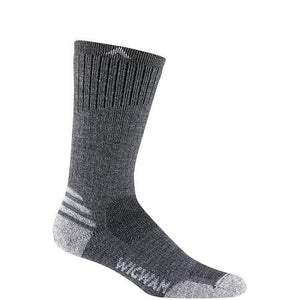 Wigwam Men's Merino Lite Crew Sock in Charcoal