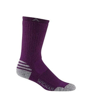 Wigwam Women's Merino Lite Crew Sock in Deep Plum