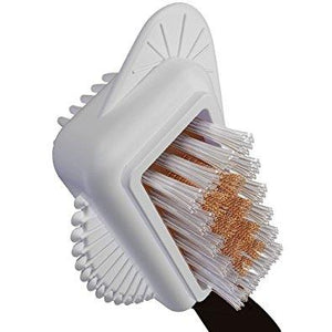 Moneysworth & Best suede brush, deluxe, multi- feature