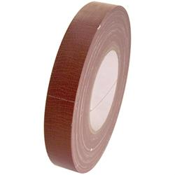 "Cantech duct tape, various colours, 1"" wide, brown."