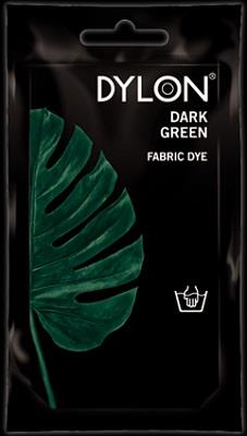 Dylon, Natural Fabric Dye, 50 g pouch, Dark Green