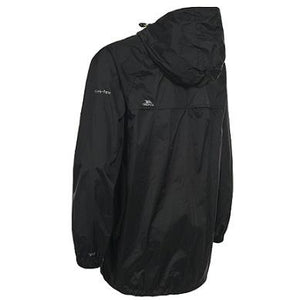 Trespass Qikpac Waterproof Packaway Jacket Back View