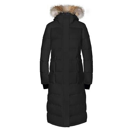 Quartz Ajna Parka in Black - Front View