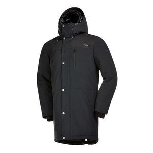 Front View of Audvik Men's Toronto Parka in Black