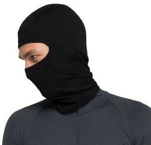 Stanfield's Expedition Weight Microfleece Balaclava, Black, One Size