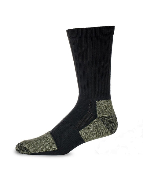 Stanfield's Kevlar Work Sock, Black with Cut Resistant Heel and Toe