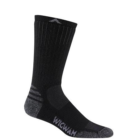 Wigwam Men's Merino Lite Crew Sock in Black