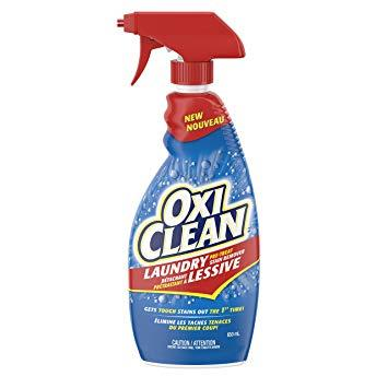 650ml spray bottle of Oxi Clean Stain remover