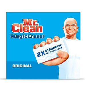 package of mr clean magic eraser.