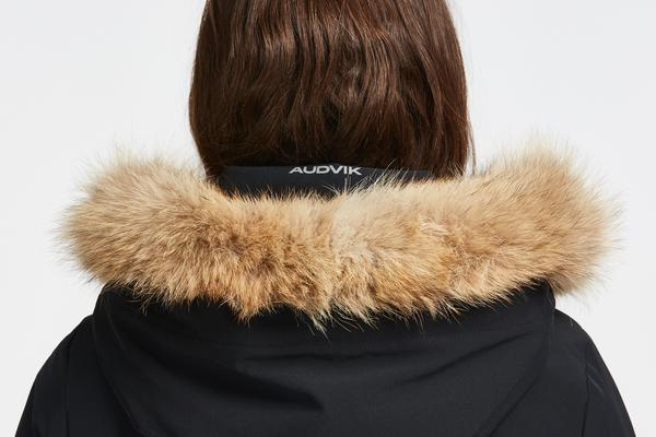 Recycled Real Fur Collar for Audvik Parkas
