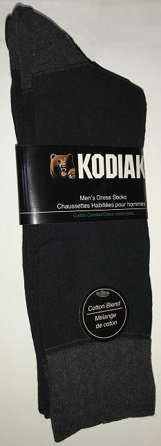 Kodiak Men's Dress Socks