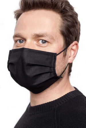 Brubeck, 2-Ply reusable cotton protective mask.