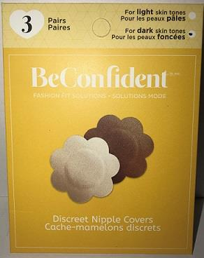 pack of Be Confident Discreet Nipple covers