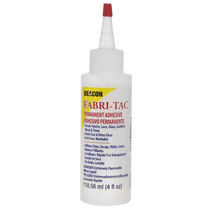 Beacon glue, fabric tac, 118 ml, (2 oz) bottle.