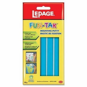 LePage Fun-Tak blue mouting putty