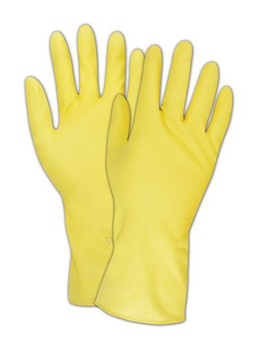 1 pair, Non-slip Latex Gloves