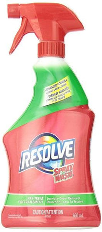 650ml Resolve Stain Remover