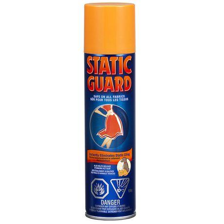 A 156g aerosol can of Static Guard spray