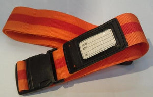 "Adjustable Luggage Strap. 5 cm x 195 cm, (1.9"" x 76.7"")."