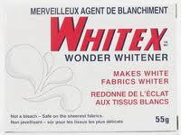Whitex wonder whitener, 55 g box.