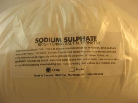 G&S Dyes, sodium sulphate, 1.0 kg