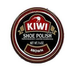 Kiwi shoe polish, 32 g, brown